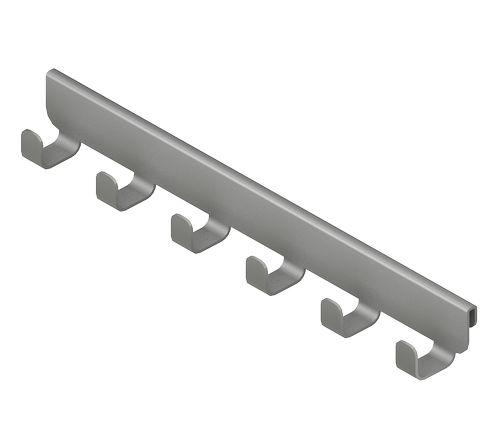 Крючок боковой, серия 360, металлик