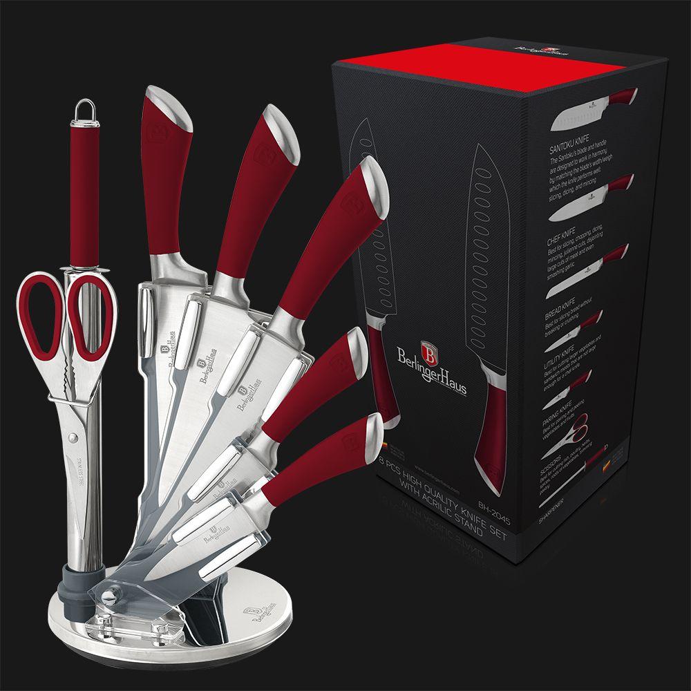 ВН-2045 Infinity Line Набор ножей на подставке 8 пр.