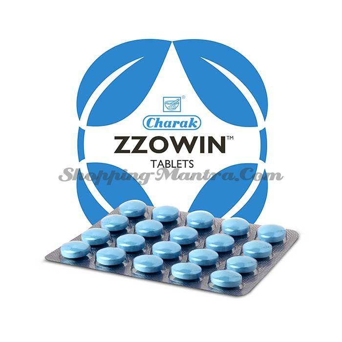 ZZOWIN Чарак Фарма для восстановления цикла сна | Charak Pharma ZZOWIN Tablets