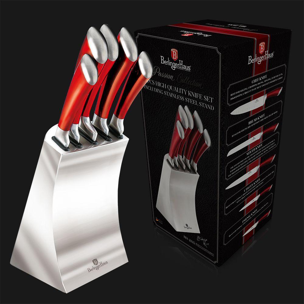 BH-2135 Набор ножей на подставке 6 пр.