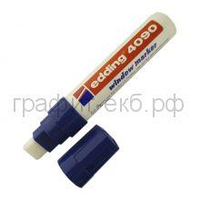 Маркер д/стекла водн.осн.4-15мм 4090-03 синий