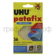 Подушки клеящие UHU Patafix 56шт.прозрачные 37155/48815