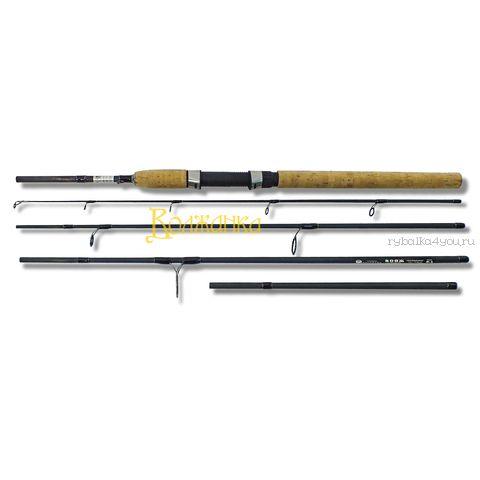 Купить Спиннинг Волжанка Вояж IM8+жесткий тубус 2,4/2,7 м / тест 15 - 60 гр