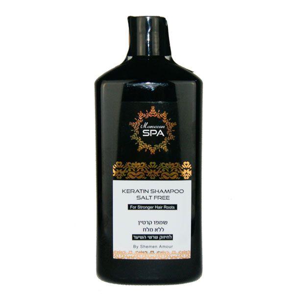 Кератиновый шампунь  для укрепления корней волос Shemen Amour (Шемен Амур) 400 мл