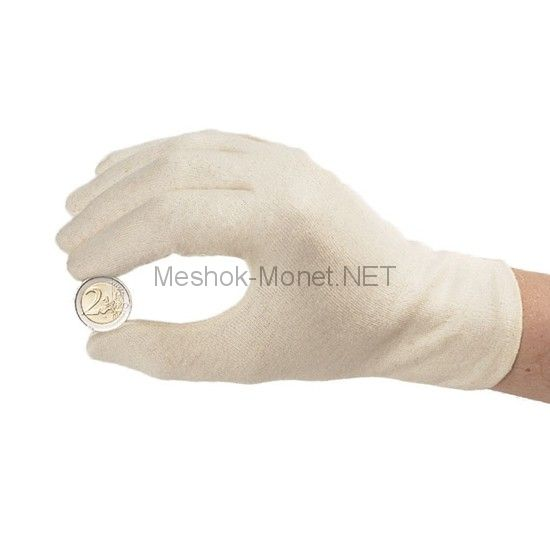 Перчатки для нумизматов из 100% хлопка
