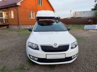 Автомобильный бокс на крышу Pragmatic EURO, 410 литров, белый матовый