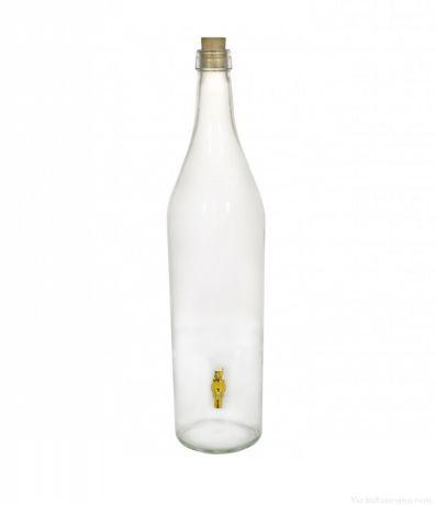 Бутыль «Русская Четверть» с краником 3,075 л