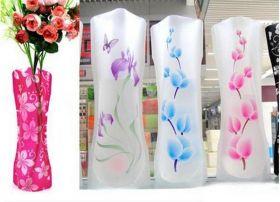 Складные пластиковые  вазы