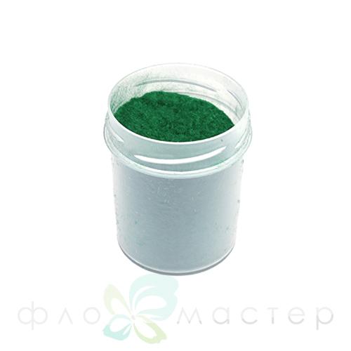Пыльца бархатная (флок) 40 мл. Изумрудный