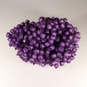 Ягоды в сахарной обсыпке 12 мм (длина 16см), цвет - фиолетовый. 1 уп = 400 ягодок