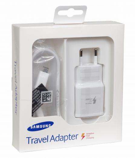 СЗУ набор Сетевое зарядное устройство Samsung 2 в 1 (Original)