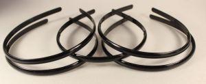 Ободок, пластик, ширина 8мм цвет: черный (1уп = 12шт)