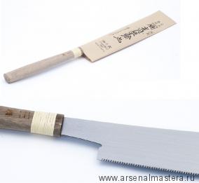 Пила столярная безобушковая Juntaro Mitsukawa 170мм поперечная (Cross) Шаг зуба 2 мм  Miki Tool М00012364