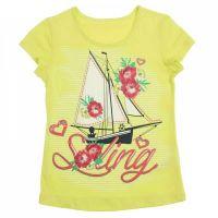 желтая блуза Морячка для девочки 3-4 лет