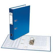 Папка-регистратор 50мм BRAUBERG ПВХ синяя/25 220888