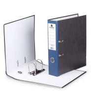 Папка-регистратор 80мм BRAUBERG мрамор синий корешок/24 220989