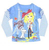 блуза для девочки Париж