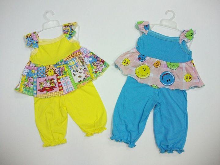 """Комплект """"Солнышко"""" (платье, шорты)"""
