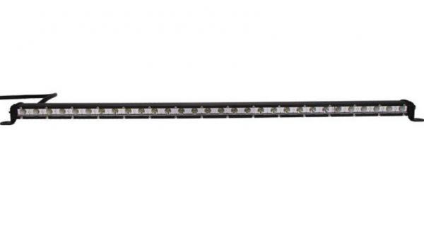 Однорядная светодиодная LED фара - 72W CREE slim