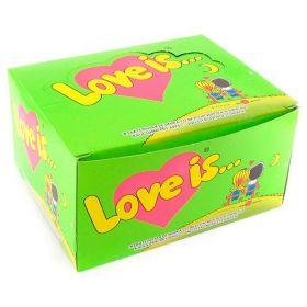 """Жвачка """"Love is"""" Яблоко-лимон"""