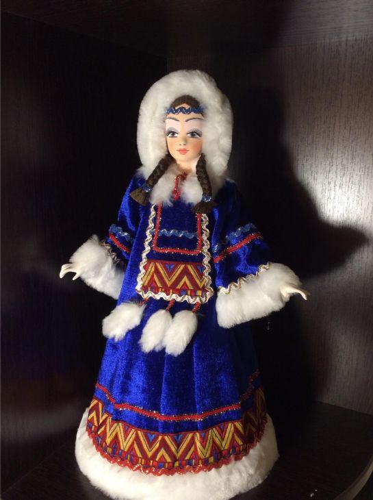 Северянка кукла-конфетница