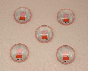 Кабошон, стекло, диаметр 25 мм (1уп = 10шт), Арт. КС0070