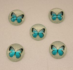 Кабошон, стекло, диаметр 25 мм (1уп = 10шт), Арт. КС0113