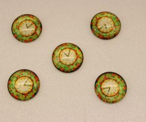 Кабошон, стекло, диаметр 25 мм (1уп = 10шт), Арт. КС0117