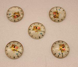 Кабошон, стекло, диаметр 25 мм (1уп = 10шт), Арт. КС0121