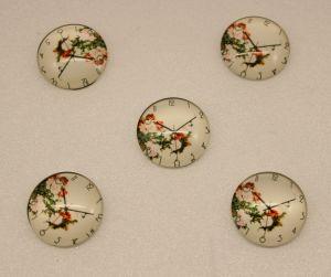 Кабошон, стекло, диаметр 25 мм (1уп = 10шт), Арт. КС0122