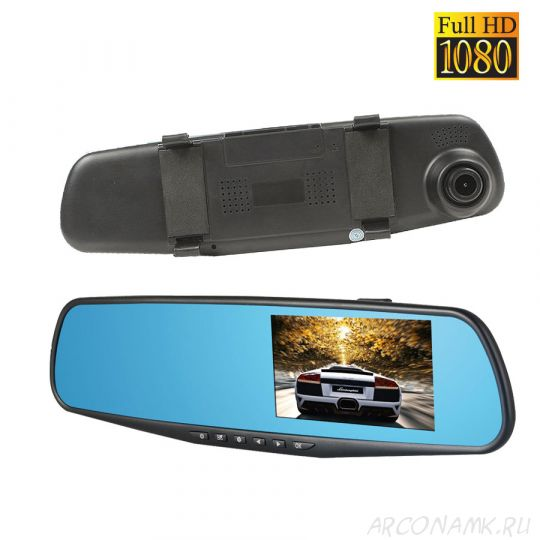 Видеорегистратор-зеркало Vehicle Blackbox DVR Full HD