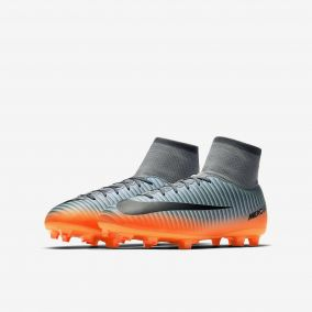 Детские бутсы NIKE MERCURIAL VICTORY VI DF CR7 FG 903592-001 JR