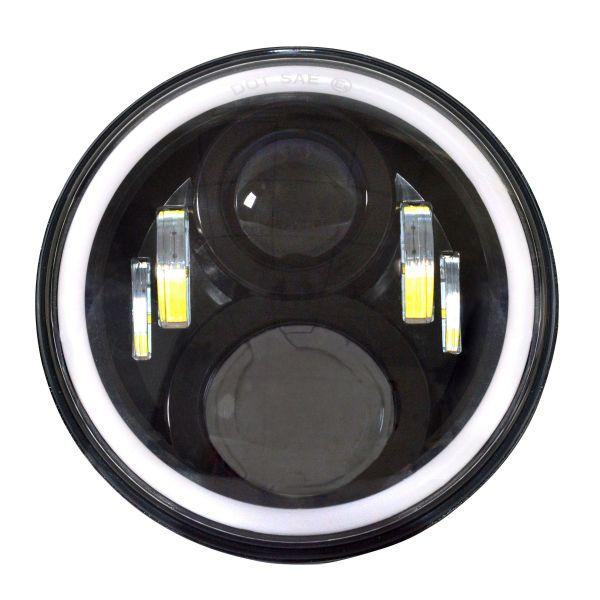 Светодиодные фары головного света 120Вт ангельские глазки 2 поколение