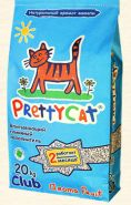 Pretty Cat Aroma Fruit Впитывающий глиняный наполнитель (20 кг)