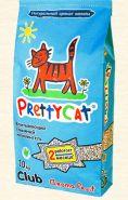 Pretty Cat Aroma Fruit Впитывающий глиняный наполнитель (10 кг)