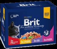 "Brit Premium Family Plate Набор ""Семейная тарелка"" (12х100 г)"