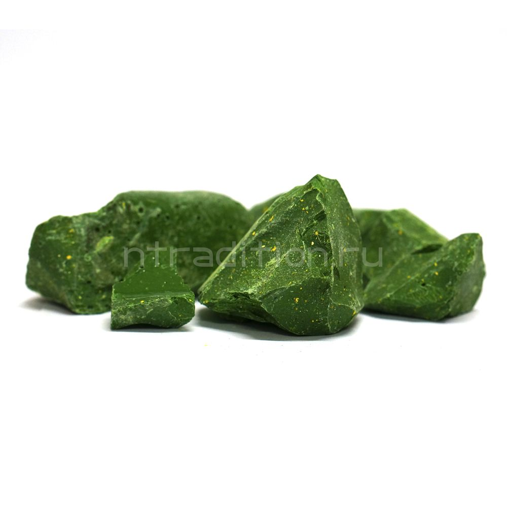 Сургуч для закупорки бутылок, цвет зеленый, 450 гр.