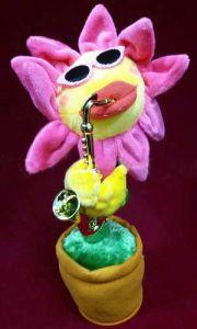 Цветок играющий на саксофоне