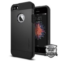 Чехол Spigen Tough Armor для iPhone 5/5s/SE черный