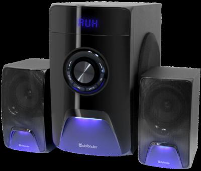 Акустическая 2.1 система X500 50Вт, Bluetooth, FM/MP3/SD/USB