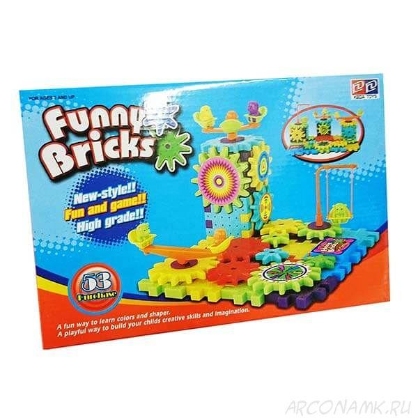 Конструктор Funny Bricks (Фанни Брикс) - 53 детали