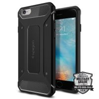 Чехол Spigen Rugged Armor для iPhone 6/6S черный