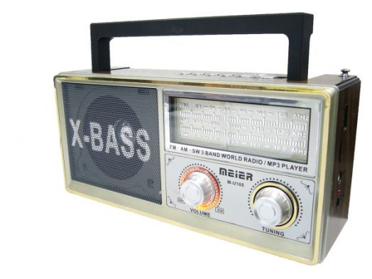 Радиоприёмник Meier M-U105 сетев (USB)