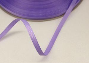 Лента репсовая однотонная 06 мм, длина 25 ярдов, цвет: сиреневый, Арт. РЛ0010