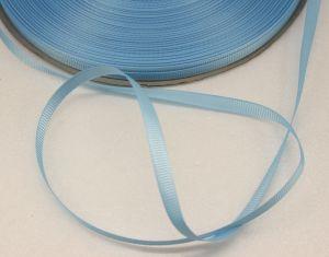 Лента репсовая однотонная 06 мм, длина 25 ярдов, цвет: светло-голубой