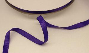 Лента репсовая однотонная 09 мм, длина 25 ярдов, цвет: фиолетовый