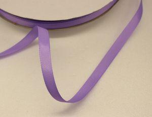 Лента репсовая однотонная 09 мм, длина 25 ярдов, цвет: сиреневый