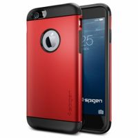 Чехол Spigen Slim Armor для iPhone 6/6S (4.7) красный