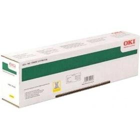 Картридж оригинальный OKI 45862849 yellow 7300 страниц