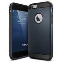 Чехол Spigen Slim Armor для iPhone 6/6S (4.7) синий металлик